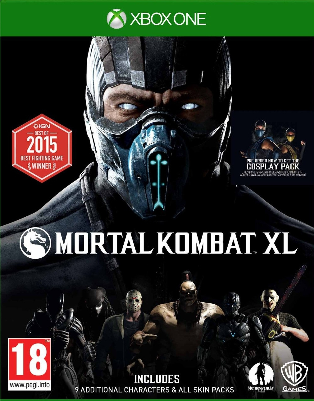Mortal Kombat XL PL (Xbox One)